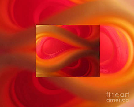 Passion Abstract 02 by Ausra Huntington nee Paulauskaite