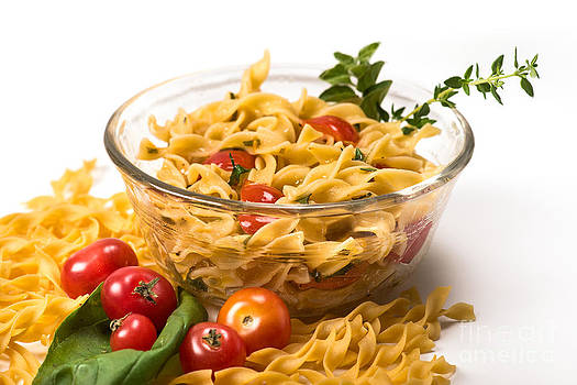 Pasta and Herbs by Cindy Tiefenbrunn
