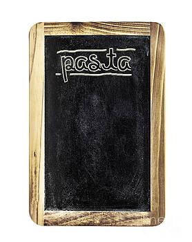 Sophie McAulay - Pasta menu board