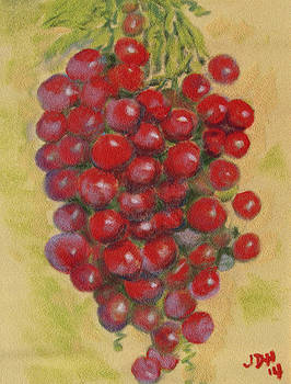 Pastel Grapes by Joseph Hawkins