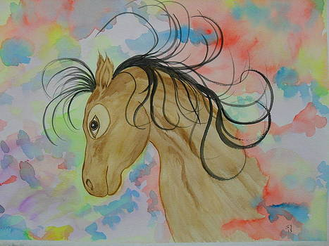 Pastel Horse by Ginny Youngblood