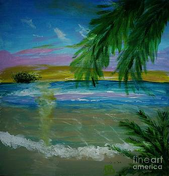 Pastel Tropics by Marie Bulger