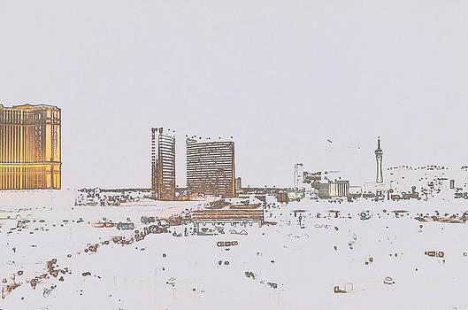 Pastel Vegas by Brian Turner