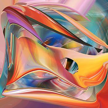 rd Erickson - Pastels  abstract