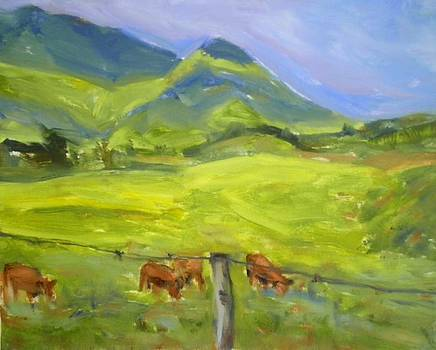 Pasture by Anna Kowalewicz