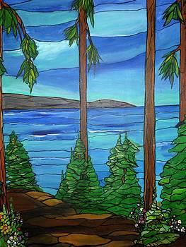 Path in Lake Tahoe by Michelle Gonzalez