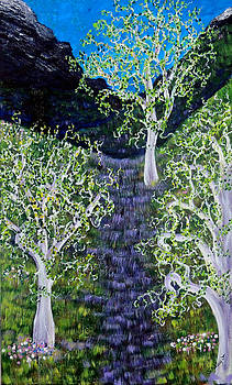 Path Through The White Oaks by Shirley Smith
