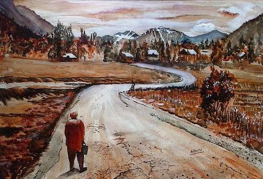 Path to my Village by Ashwini Tatkar