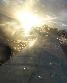 Patiently Sunset Surfin by A Cyaltsa Finkbonner