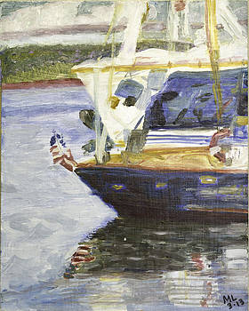 Patriot Boat by Mary LaFever