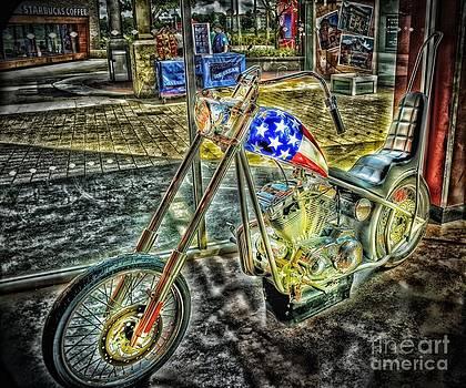 Patriotic Hog by Arnie Goldstein