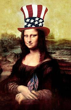 Gravityx9 Designs - Patriotic Mona Lisa