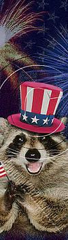 Jeanette K - Patriotic Raccoon # 521
