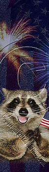 Jeanette K - Patriotic Raccoon # 525