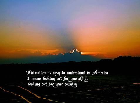 Gary Wonning - Patriotism