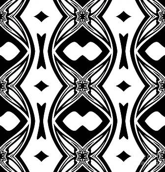 Drinka Mercep - Pattern Black White Art No.251.