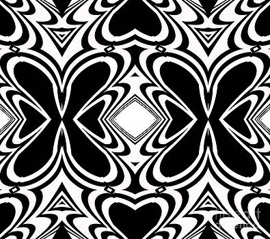 Drinka Mercep - Pattern Black White Art No.266