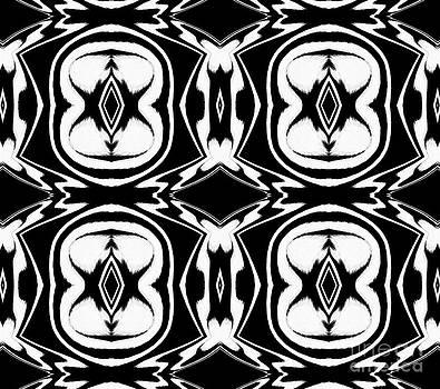 Drinka Mercep - Pattern Black White Art Print No.263