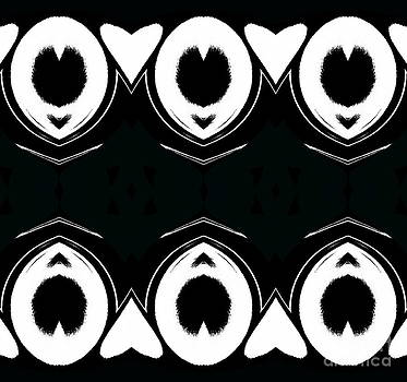 Drinka Mercep - Pattern Black White Art Prints No.221.