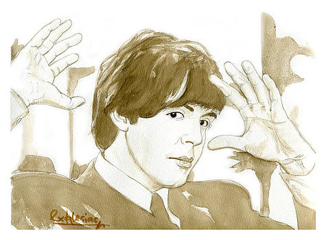 Paul McCartney by David Iglesias
