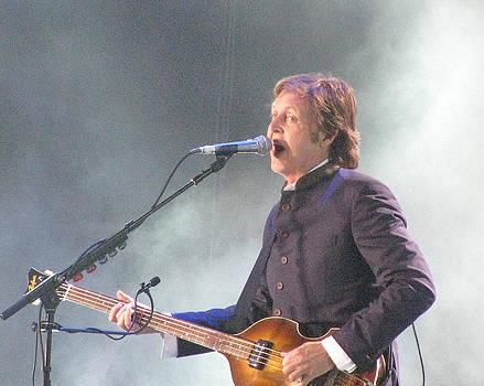 Paul McCartney on Stage at Citi Field by Melinda Saminski