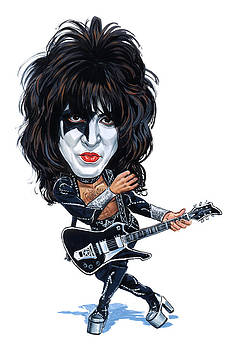 Paul Stanley by Art