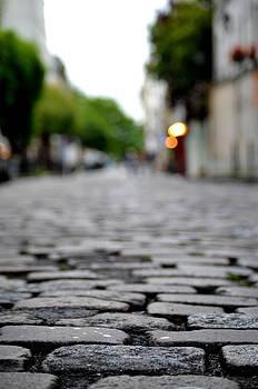 Pave De Montmartre by Riad Belhimer