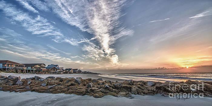 Pawleys Island Beach Sunrise by Mike Covington