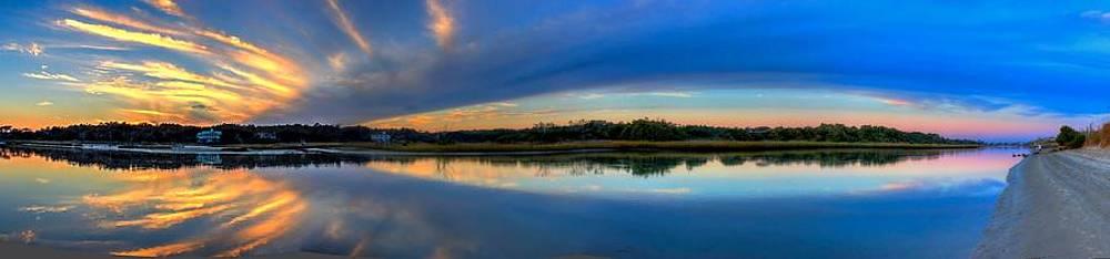 Pawlwys Island Sunset by Ed Roberts