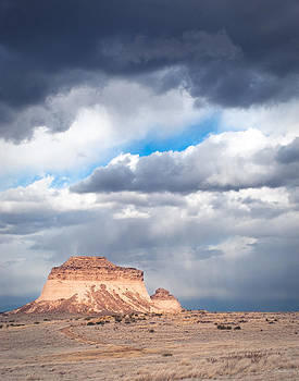Pawnee Buttes on the High Plains of Colorado by Julie Magers Soulen