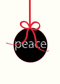 Peace Christmas Card by Pamela Altschwager
