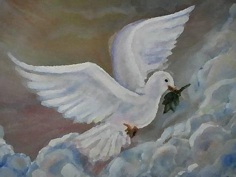 Peace Dove Series I by Marilyn  Sahs