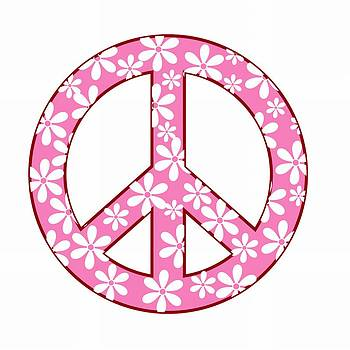 Peace In Pink by Anne Marie Baugh