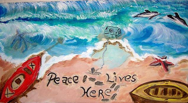 Peace Lives Here by Ann Whitfield