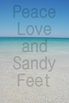 Peace Love and Sandy Feet by May Photography