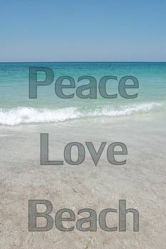 Peace Love Beach by May Photography