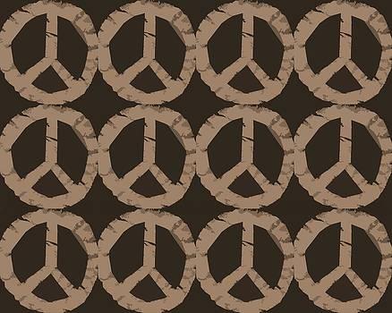 Michelle Calkins - Peace Symbol Collage