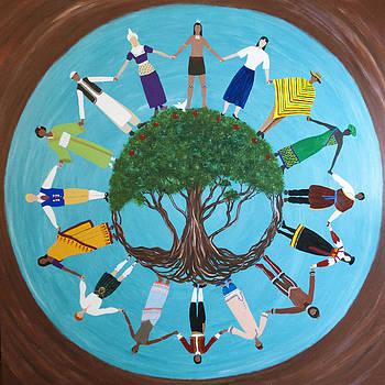 Peace Tree by Kate Johnson