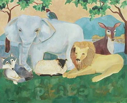 Peaceable Kingdom by Noel Sandino