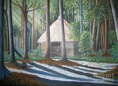 Peaceful abode by Usha Rai