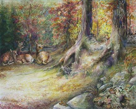 Peaceful Autumn Afternoon by Bonnie Goedecke