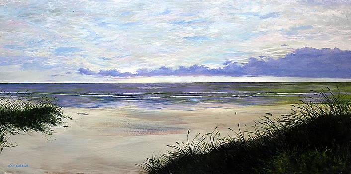 Peaceful Beach by Ken Ahlering