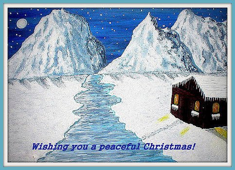 Peaceful Christmas by Sandy Wager