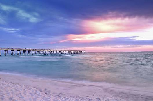 Peaceful Evening at the Beach by Renee Hardison