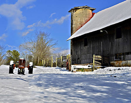 Peaceful Farm by Susan Leggett