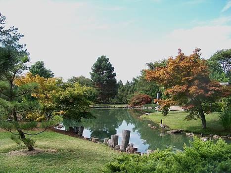 Peaceful Gardens by Julie Grace