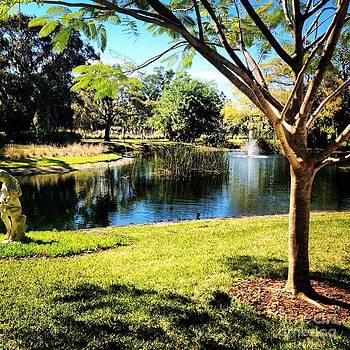 Peaceful Pond by Justine Prato