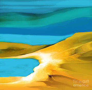 Peaceful Solitude by Hilda Lechuga