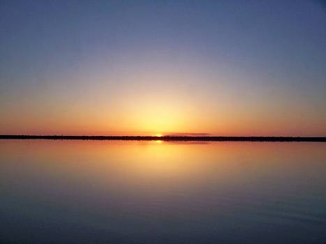 Peaceful Sunset by Tanya Moody