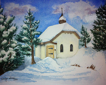 Peaceful Valley Chapel  by Donlyn Arbuthnot